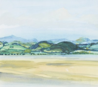 Picture of Sidlaw Hills Across the Tay from Balerno by Kalene Douglas