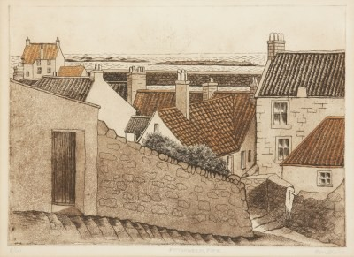 Picture of Pittenweem, Fife by Beatrix Blake