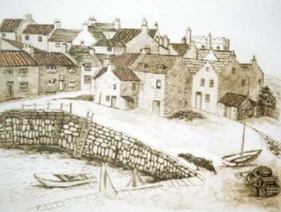Picture of Crail, Fife by Beatrix Blake