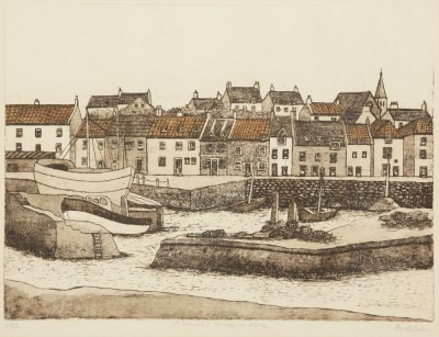 Picture of St. Monan's Harbour Fife by Beatrix Blake