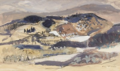 Picture of Selkirk Landscape by John McNairn