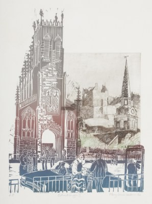 Picture of Edinburgh II by Mary-Louise Coulouris