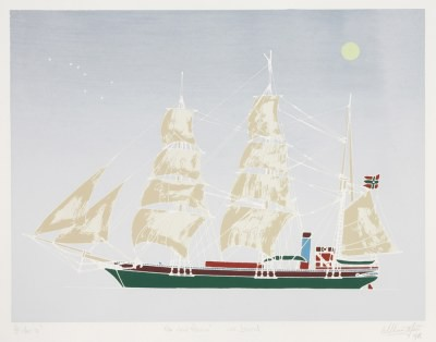 Picture of The Maid Patricia, Ice Bound by William Main