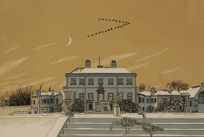 Picture of Haddo, New Year by Donald Addison