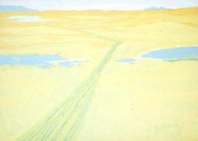 Picture of Landscape Tracks by Frances Walker