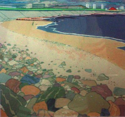 Picture of Aberdeen Beach by Frances Walker
