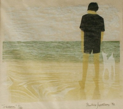 Picture of Seashore by Pauline Jacobsen