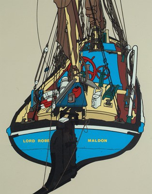 Picture of The Sailing Barge Lord Roberts by Ivan Polley