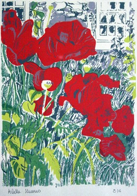 Picture of Poppies by Arlette Munro