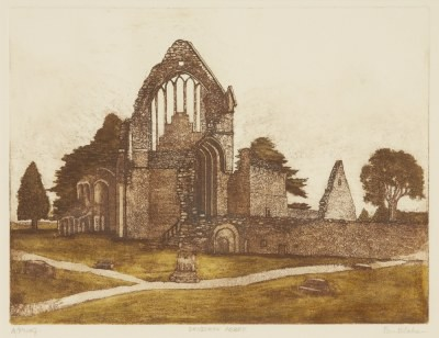 Picture of Dryburgh Abbey by Beatrix Blake