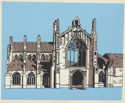 Picture of Melrose Abbey by Beatrix Blake