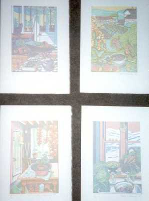 Picture of Four Seasons by Clare Melinsky