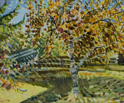 Picture of Little Green Apples I by Derek Green