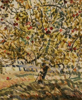 Picture of Little Green Apples II by Derek Green