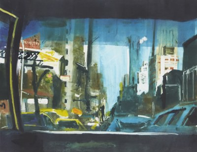 Picture of East Side, Manhattan by Kate Downie