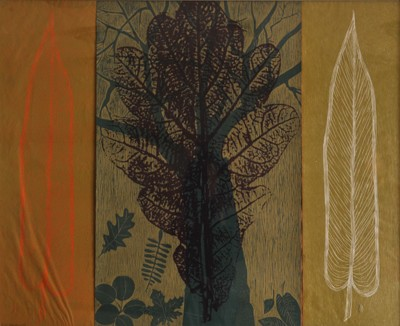 Picture of Trees and Seasons (Oak Leaf) by Ruth Beardsworth