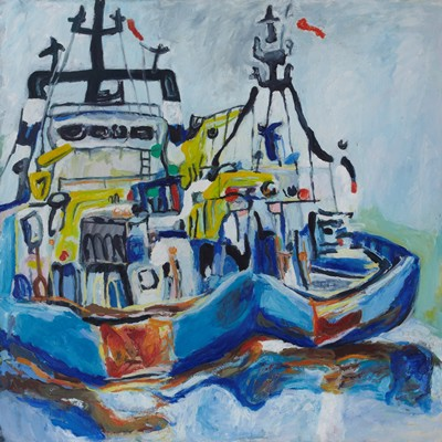 Picture of Tugs by Alison Philp
