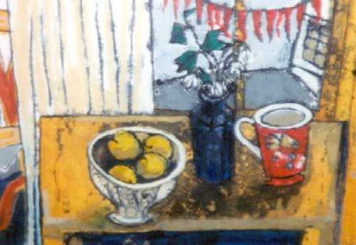 Picture of Still Life in February by Rosey Priestman
