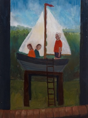 Picture of Sailing Boat (Study) by Sarah Quayle