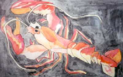 Picture of Lobster by Amy Page