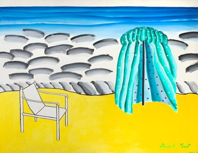 Picture of Beach Tent by Jack Knox