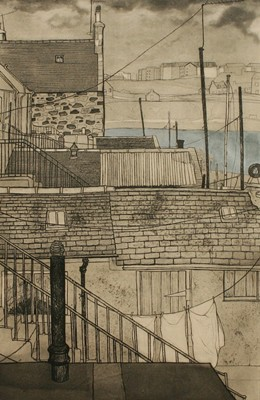 Picture of Harbour Channel,  Aberdeen by Frances Walker
