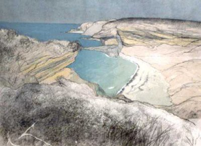 Picture of Clashach Cove by Frances Walker