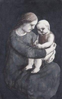 Picture of Mother & Child by Evelyn Williams