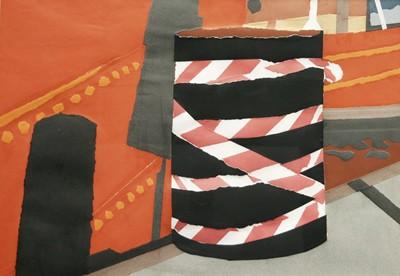 Picture of Barrel Collage by Pauline Burbidge