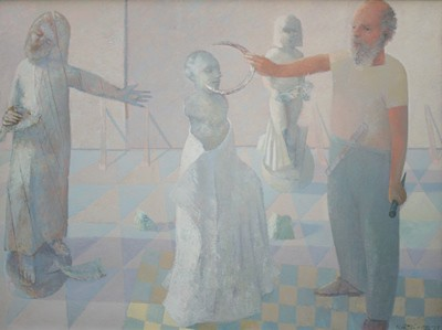 Picture of The Sculptor's Studio by Paul Martin