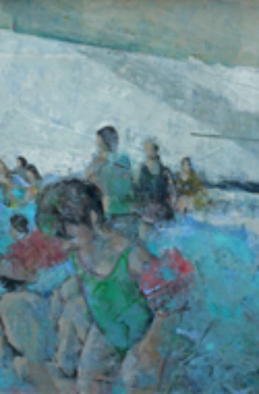 Picture of Bathers by Damian Callan