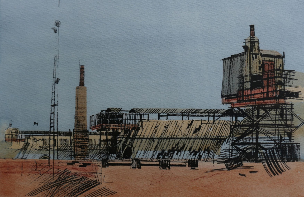 Picture of Niddrie Brick Kilns by Marjorie I Campbell