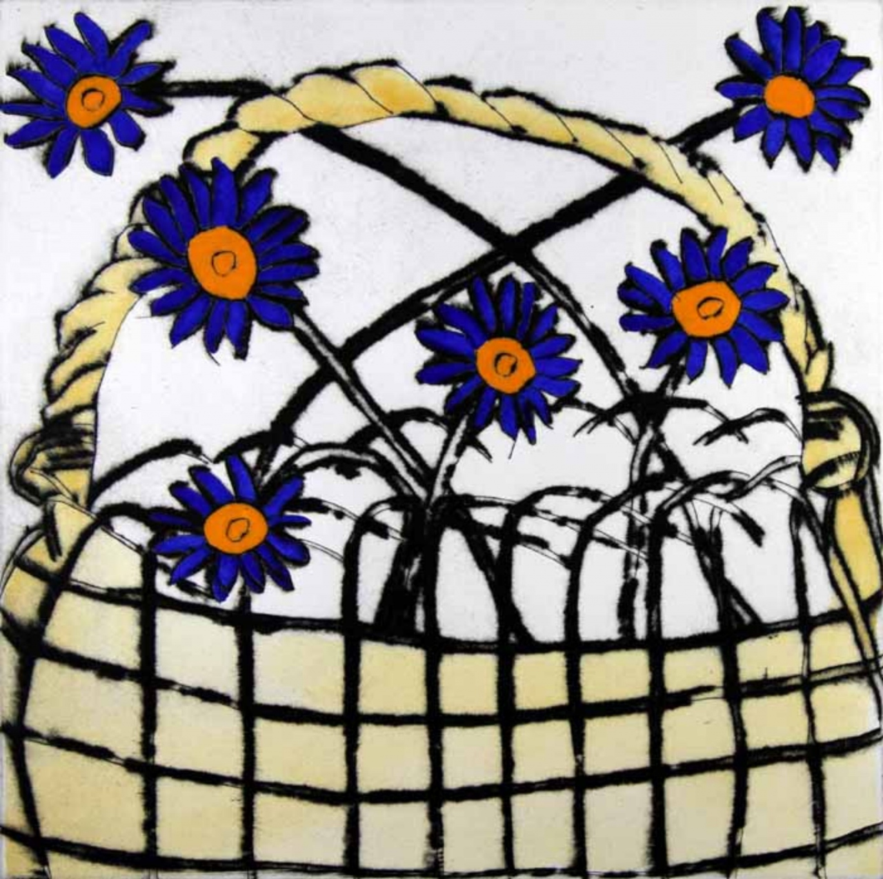 Picture of Daisy Basket by Richard Spare