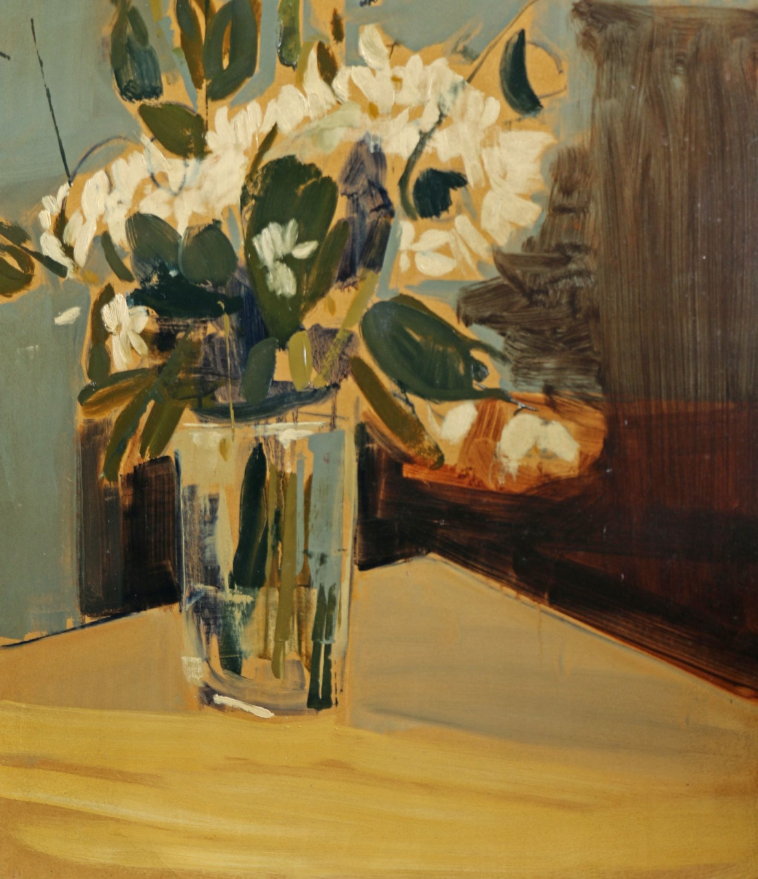 Picture of Study of Chrysanthemums by Hannah Mooney