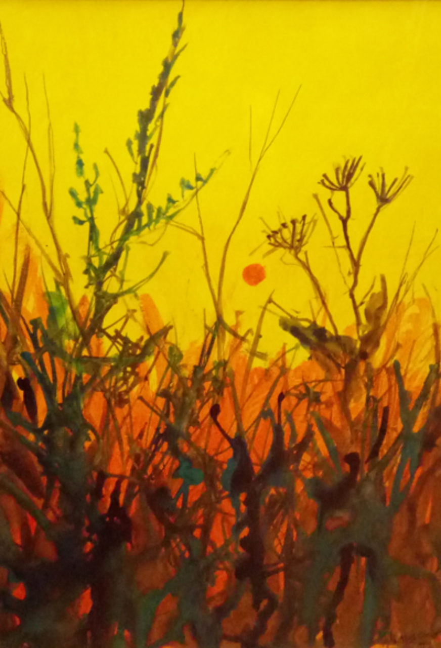 Picture of Yellow Field by Artist Unknown