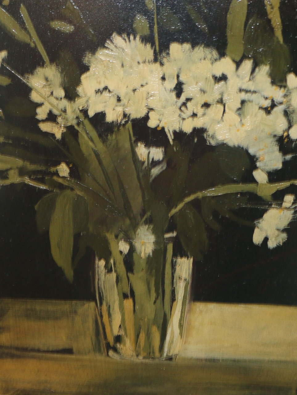 Picture of Study of White Flowers by Hannah Mooney